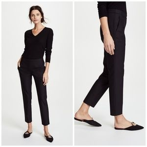Theory Crop Slim Pants Black NEW
